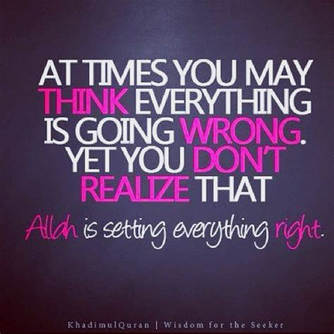islamic words of comfort inspirational islamic quote allah is setting everything