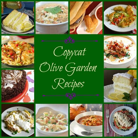 make your own olive garden menu 50 olive garden copycat recipes allfreecopycatrecipes