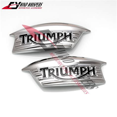 Ktm Retro Aufkleber by Online Kaufen Gro 223 Handel Triumph Tank Embleme Aus China