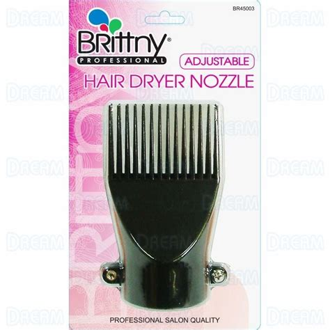 Hair Dryer Nozzle Diy brittny hair dryer adjustable nozzle world products