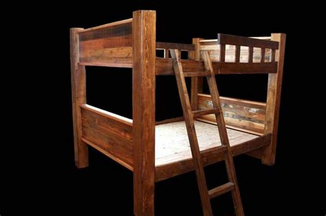 Rustic Loft Bed by Rustic Bunkbeds