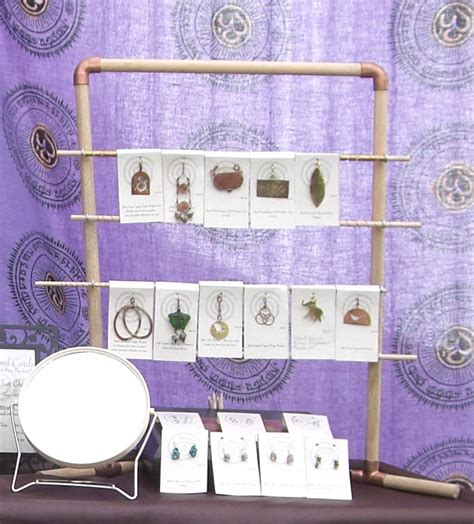 Jewelry Display Rack from Hardware Store Parts   Jewelry Business Blog