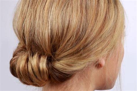 tutorial rambut nagita tutorial hair bun simpel dan elegan untuk acara formal
