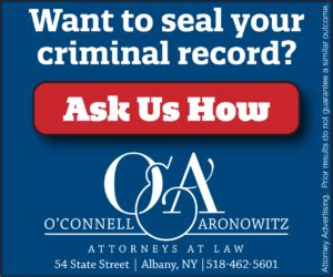 New York Criminal Record Search Sealing Criminal Records In New York State O Connell And Aronowitz