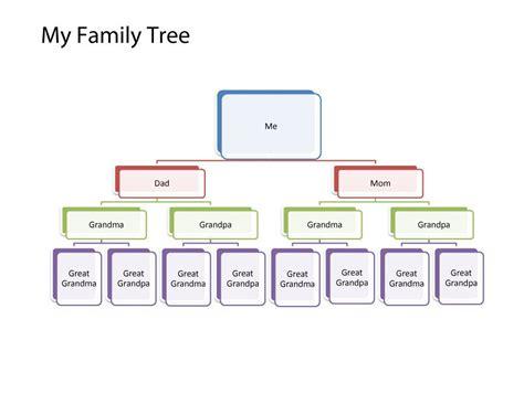 40 free family tree templates word excel pdf