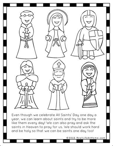 saints printables worksheet packet saints printables