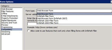 completing an infopath form offline