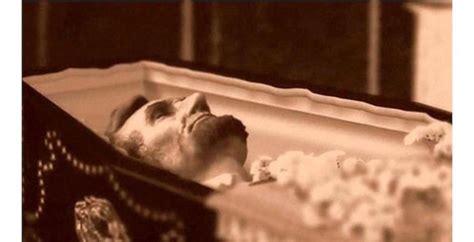 celebrity open casket funerals  shock