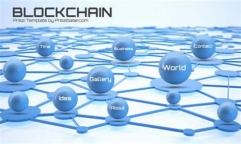 Blockchain Presentation Prezi Template Prezibase Blockchain Ppt Template
