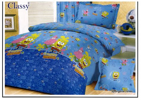 Sprei Spongebob No 1 Fata sprei bedcover anak collection 1 myspreibedcover