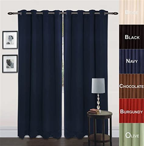 blue room darkening curtains blackout room darkening curtains window panel drapes