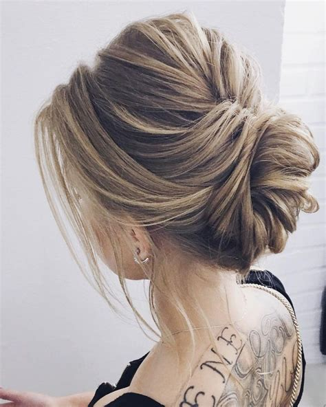 upstyles for long hair elegant updo wedding hairstyle inspiration wedding upstyles