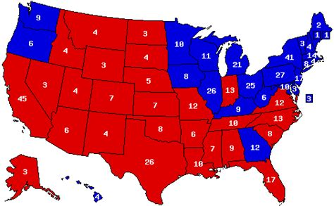 us map after election united states presidential election 1980 for want of