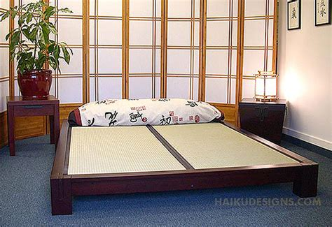 raku japanese tatami bed haiku designs