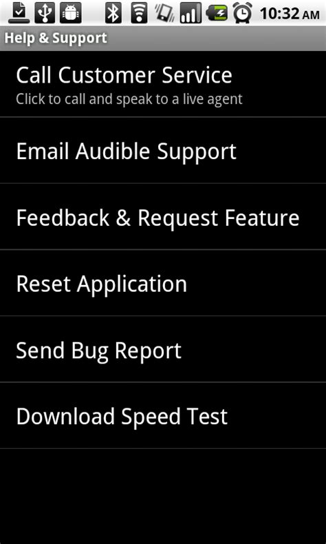 mobile audible android app audible audio book player beta