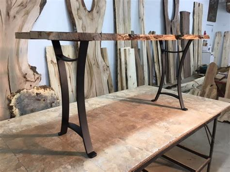 ohiowoodlands sofa table base solid steel sofa table legs
