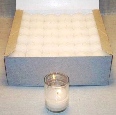 Soy Candle Unscented Votive Candle 12 Hours 72 unscented white 10 hour votives soy blend scented
