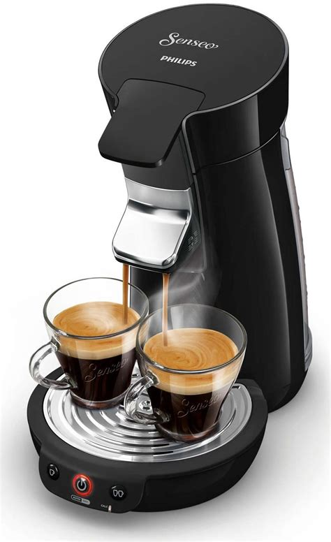 philips senseo viva cafe coffee pod machine hd black