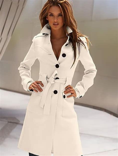 Longcoat Finny Navy Jaket Sweater 0109 sale womens warm wool blend slim trench belted coat jacket ebay