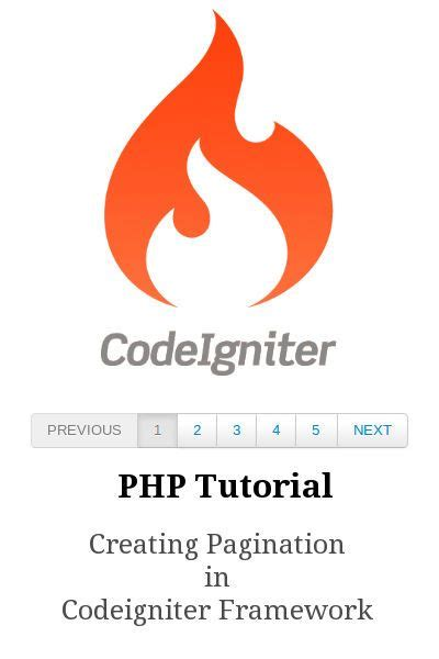 tutorial codeigniter pagination 41 best images about web development tips on pinterest