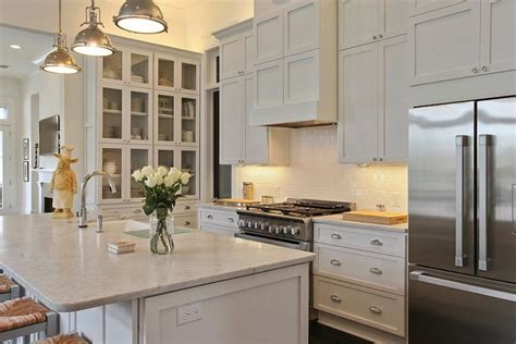 Built In Hutch   Transitional   kitchen   Troyer Builders