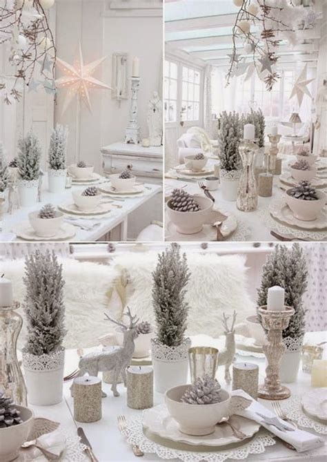 Decorations Table De Noel by 1000 Id 233 Es Sur Le Th 232 Me D 233 Corations De Table De No 235 L Sur