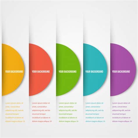 color icon abstact circles template color icon vector vector