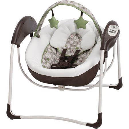 baby swing electric graco glider lite baby swing zuba walmart