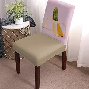 amazoncom cactus chair slipcovers  dining room chair