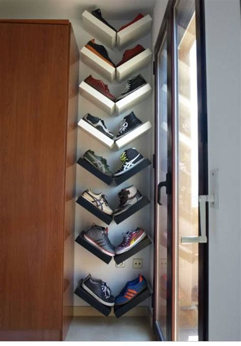diy shoe drawer 22 diy shoe storage ideas for small spaces lack shelf