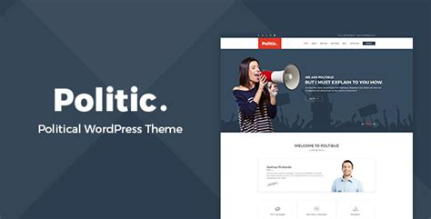 templates for voting website politic political wordpress theme by hastech themeforest