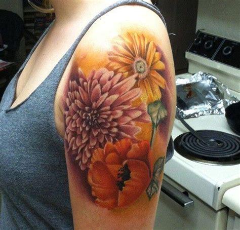 small chrysanthemum tattoo best 25 november birth flowers ideas on