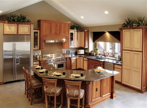 kitchen layouts with island 10 g shaped kitchen layout ideas