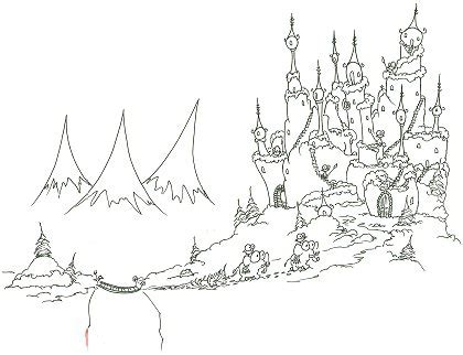 small castle coloring page tree search results bluebison net page 2