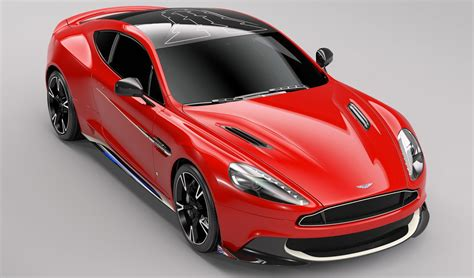 redness in s limited aston martin vanquish s arrows edition revealed