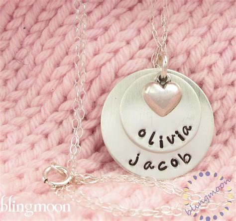 personalized custom necklace pendant necklace