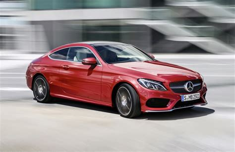 convertible mercedes red 2016 mercedes benz c class coupe revealed lighter larger