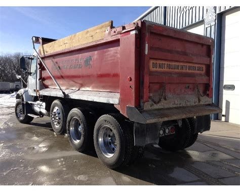 volvo heavy duty trucks 2005 volvo vhd64f200 heavy duty dump truck for sale des