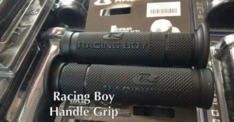 Handgrip Racing Boy Ch Motorcycle Store Racing Boy Handle Grip Rubber 201
