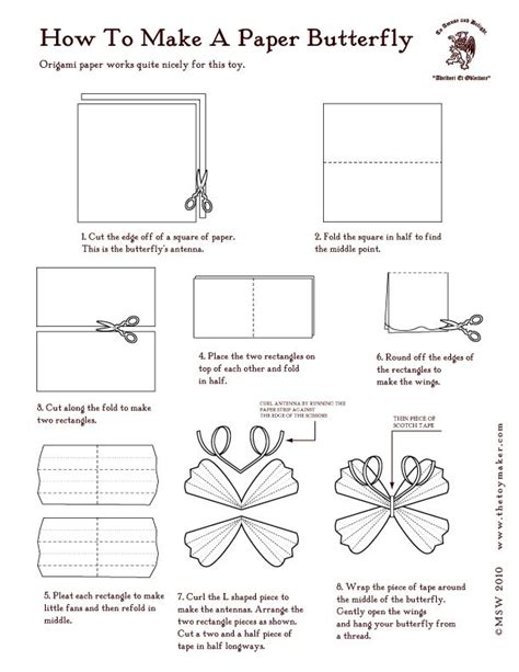How To Fold A Paper Butterfly - 127 best images about paper printables on