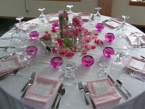 Hochzeitsdeko Magenta by Hochzeitsdekoration Ideen Zauberhafte Tisch Und