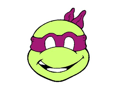ninja turtle coloring page mask colored page ninja turtles mask painted by user not registered