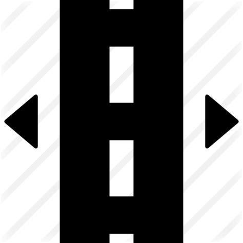 Broken Line broken line road free transport icons