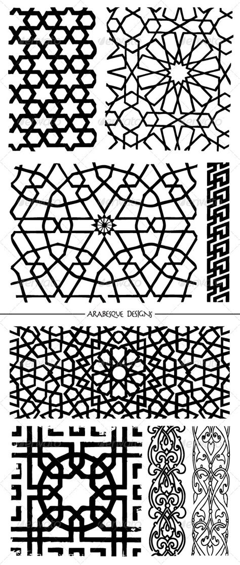 arabesque pattern dwg islamic mosaic patterns river arabesque design