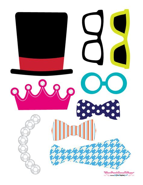 free printable photo booth props party free printables photo booth props ideas big dot of