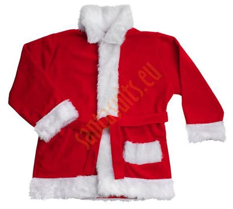 fleece santa suit set 11 parts santa suits