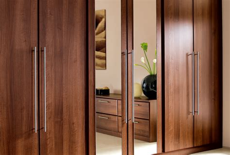 bedroom mirrored wardrobes malmo from sharps love the walnut house pinterest