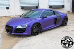Audi R8 Matte Matte Purple Audi R8 By Superior Auto Design
