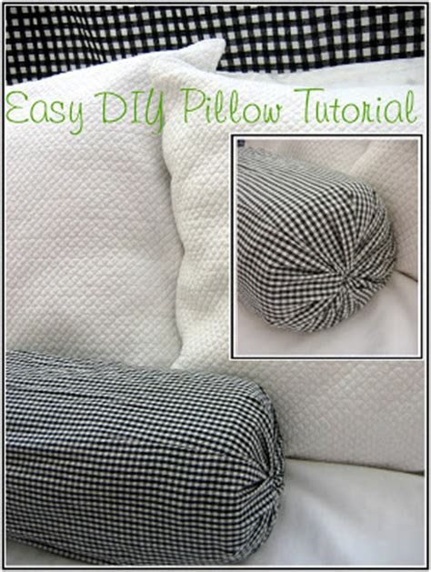 Diy Neck Roll Pillow by The Chair Easy Diy No Sew Pillow Tutorial