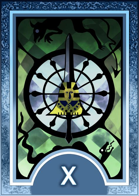 printable persona tarot cards persona 3 4 tarot card deck hr fortune arcana by